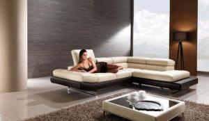 Quality Contemporary Luxury Leather Sofas Bed , Italian designer sofas for sale