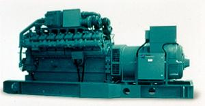China Natural gas generator set 500KW on sale