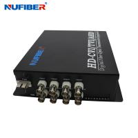 HD-CVI/AHD/TVI 8Channels Video Coaxial BNC Fiber Video Converter Transmitter and Receiver