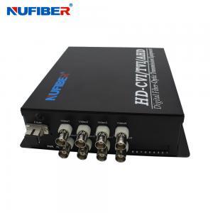 China HD-CVI AHD TVI 1080P Fiber Coaxial Video Converter 8BNC 1RS485 1 Fiber Video Transmitter and Receiver for HD Cameras on sale