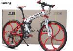 Height 155cm Full Alloy 27 Speed Aluminum Folding Mountain Bike