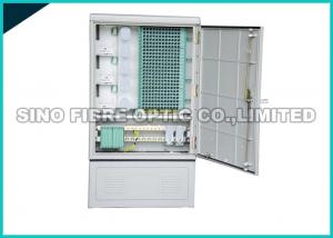 China Telecom Fiber Optic Distribution Box 576 Cores Multimode With LC Connector on sale