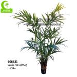 H210cm Artificial Tropical Tree , Artificial Kentia Palm Tree For Indoor Decoration