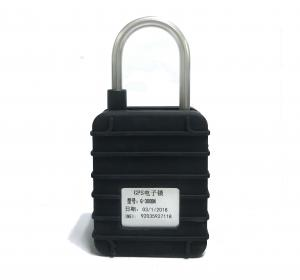 China EC300 GPS Tracker Padlock for Truck monitoring for goods/live animals with hard lock rod on sale