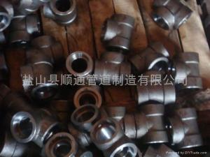 China Socket-Welding Fittings Tee on sale