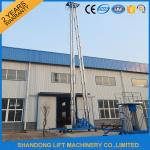 China Hydraulic Mobile Telescopic Ladder Aerial Work Platform Lift With 150kgs Loading 19m Height wholesale