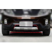 Sport Type Car Bumper Guard For KIA SORENTO 2013 , ABS Front Guard and Rear Guard with Red Trim