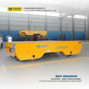 China Large Capacity Material Track Forklift Battery Transfer Cart , Automated Guided Vehicle on sale