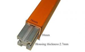 China Insulated Tube Aluminum Bus Bar 32*32*2.7mm With Good Safety Performance on sale