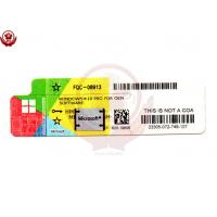 China Professional Windows 10 Windows License Sticker Software OEM license key on sale