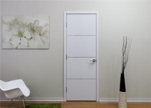 China White Color Wood Composite Door Inner Frame Material Apartment Bedroom Application on sale