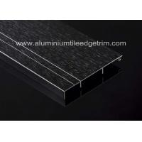 China Black Metal Aluminium Skirting Melbourne / Trunking  / Brisbane Long Durability Around House on sale