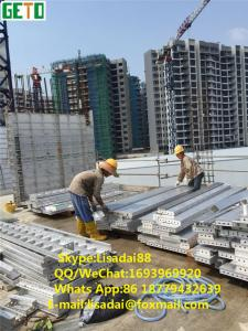 China Geto  short time  aluminium Formwork system for modern efficient concrete construction formwork on sale