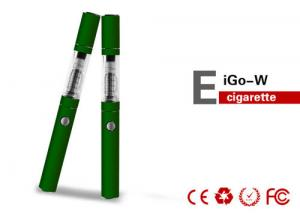 China 1100mAh EGO W Electronic Cigarette , 3.7V 2.2ohm E Cig Cartomizer on sale
