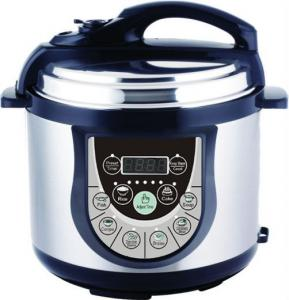 China Multifunction Electric Pressure Cooker 6L Nourishing energy saving LED display on sale