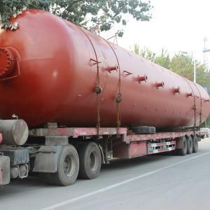 China Chemical Cryogenic Pressure Vessel , Pressure Storage Tank Double Walled 0.8Mpa on sale