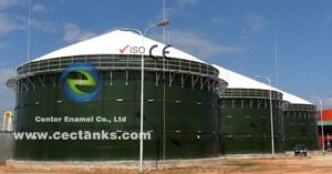 China 100 000 Gallon Anaerobic Digester Tank For Organic Waste Treatment on sale