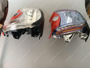Diesel Engine headlight Kubota Engine Parts with logo LED