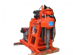 China Trailer mounted drilling rig XY150A on sale