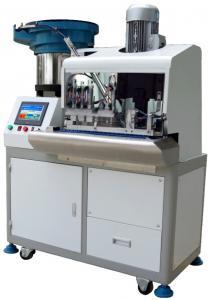 China Fully Automatic Two - Wire Plug Pin Insertion Machine Plug Making Machine on sale
