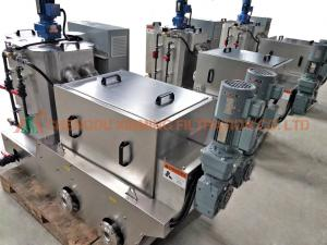 China High Degree Automation Powder / Polymer Dosing System For Wastewater Treatment on sale