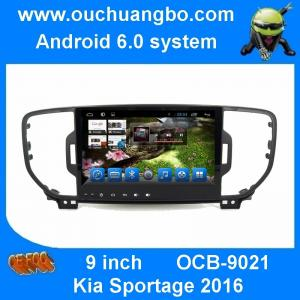 China Ouchuangbo car stereo gps navigation for Kia Sportage 2016 with android 6.0 MP5 /MP3 /MP2 /AAC /OGG /RA /WAV /FLAC /APE on sale