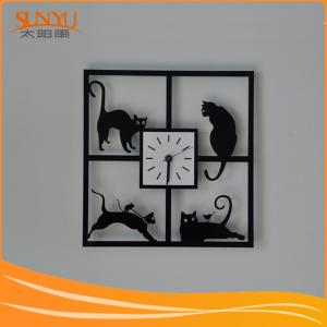 China China Factory OEM Acrylic Wall Clock on sale