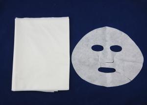 Quality Bacterias antis de Tencel de la máscara de la hoja del paño facial seco natural for sale