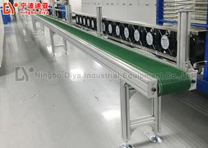 China Anti Static Assembly Line Conveyor , HI Q Conveyor Belt System For Electronic Production on sale