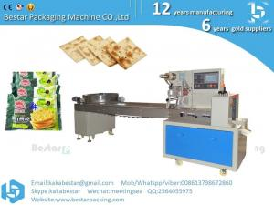 China Indonesia soda crackers, mineral salt soda crackers pillow vacuum packing machine on sale