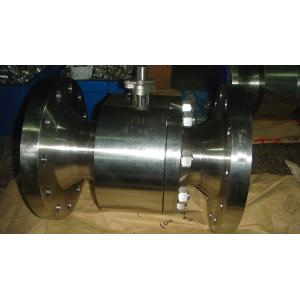 China forged steel double flange ends ball valve(class150~2500) on sale