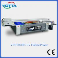 China Digital uv flatbed printer ceramic glass wood metal printing machine on sale