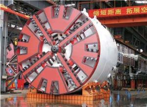 China aléseuse de tunnel de 15KW TBM 250mm - 5000mm pour la construction de tunnel on sale