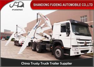 China 20FT 40FT Container Side Loader Trailer , Box Loader Container Side Lifter Truck on sale