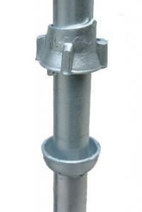 China Professional Steel Cuplock System Scaffolding , Galvanized Steel Scaffolding on sale