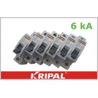Mini Circuit Breaker Single Pole  Double poles three poles four poles Customized 1,3,6,10,16,20,25,32,40,50,63A