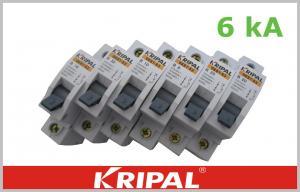 China Mini Circuit Breaker Single Pole  Double poles three poles four poles Customized 1,3,6,10,16,20,25,32,40,50,63A on sale
