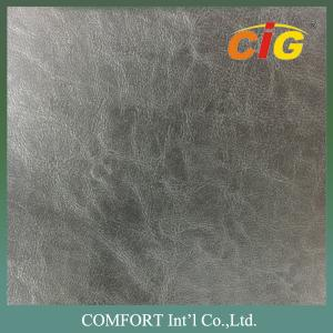 China Classic 1.2 - 1.8mm PVC Artificial Leather for Shoes Top with Non - woven fabric Backside on sale