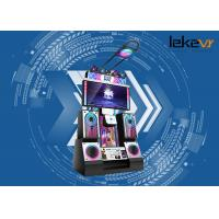 Color Customized 9D Virtual Reality Arcade Dance Machine With Massive Songs