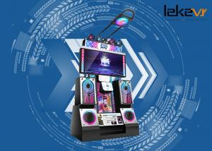 China Color Customized 9D Virtual Reality Arcade Dance Machine With Massive Songs on sale