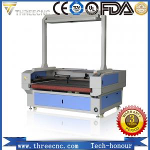China Automatic feeding CNC laser cutting machine with CCD camera. TLF1610-CCD. THREECNC on sale
