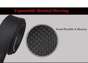 China Self - Extinguishing Heat Shrinkable Braided Sleeving Expandable Cable Harness on sale
