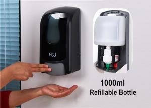China 1 Litre Empty Bathroom Refillable Hand Soap Dispensers With Disposable Bag on sale