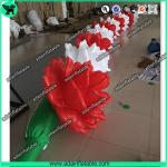 10m Inflatable Rose Flower Chain For Wedding Decoration