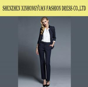 China Custom Business Ladies Blazer Jackets Womens Corporate Workwear Anti - Shrink on sale