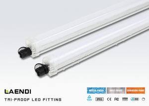 China Waterproof Led Tube Light 0.6m , 18w Led Tri Proof Light For Parking Lighting on sale
