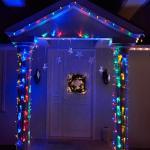 Ultra Bright Jumbo Bulbs 8 Modes 66FT Christmas String Lights