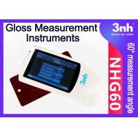 Ink Plastic Digital Gloss Measurement Instruments NHG60 60° Sheen Surface Gloss Reader