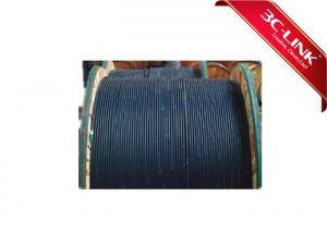 China Single Mode And Multimode Fiber Optic Cable With G655 Fiber 9.9 Mm Cable Diameter on sale