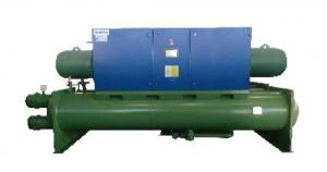 China R134a Refrigeration Water Cooled Screw Chiller With Stainless Steel Plate Evaporators on sale